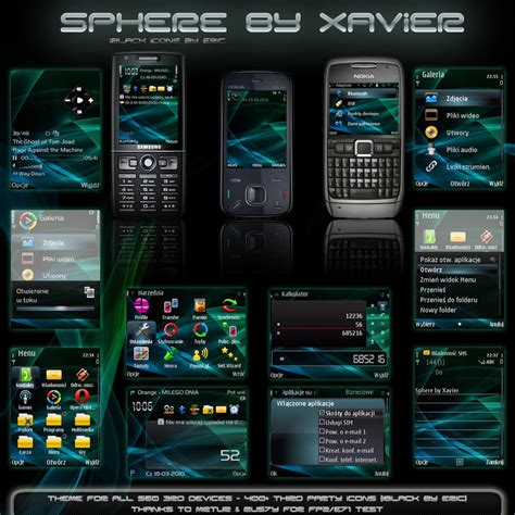 themes maker for n73 sphere theme by xavier themes on deviantart