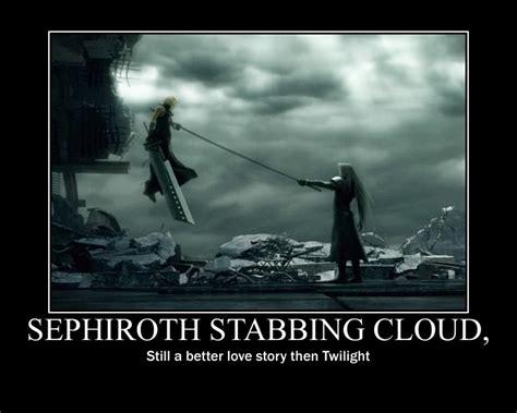Sephiroth Meme - cloud vs sephiroth wallpaper wallpapersafari