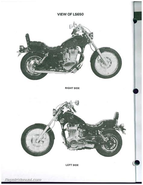 Suzuki Motorcycle Manual Ls650 Savage S40 Boulevard 1986 2009 Suzuki Motorcycle