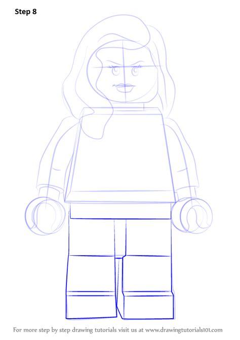 lego tutorial easy learn how to draw lego phoenix lego step by step