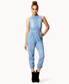 womens jean jumpsuit