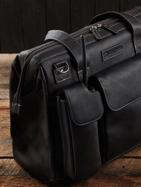 lightspeed gann leather flight bag mypilotstorecom