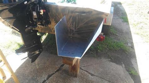 jon boat flotation pods step by step boat pod build tinboats