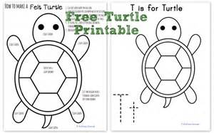 turtle template how to make a felt turtle abc animals in felt