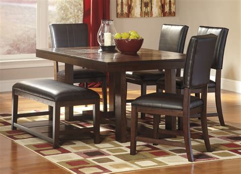 ashley furniture dining table sets signature design  ashley glambrey  dining table