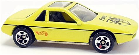 Wheels Pontiac Fiero 2m4 1996 Hotwheels fiero 2m4 68mm 1985 wheels newsletter