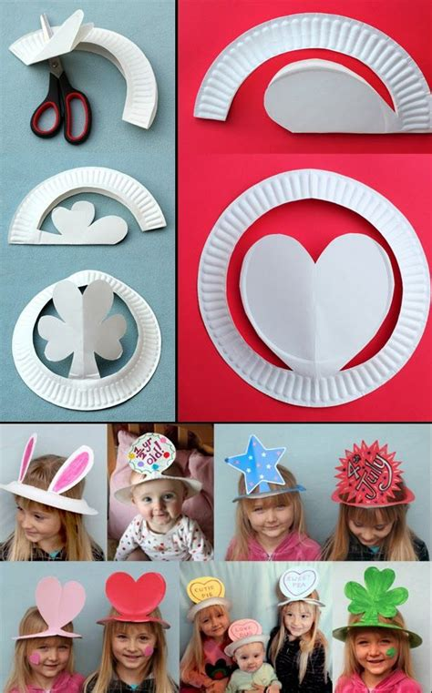Useful Paper Crafts - best 25 paper plate hats ideas on nursing