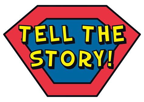 and tell the of narration books telling story clipart 17