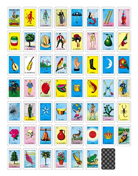 loteria printable pictures to pin on pinterest pinsdaddy