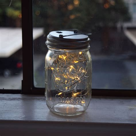 lights jar led jar lights for regular warm white lid light only