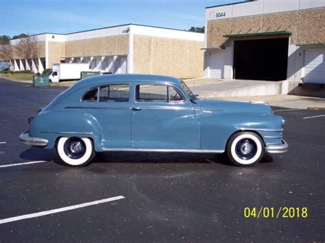 chrysler 2 door 1948 chrysler 2 door sedan rod classic