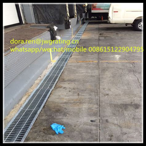 Hot Dip Galvanized Garage Floor Grate / Metal Grates
