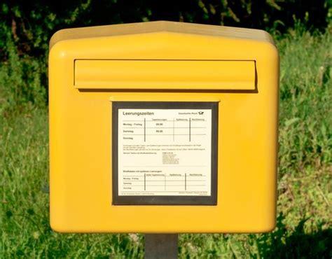 briefkasten bilder deutsche post hotline nummer f 252 r den kundenservice giga
