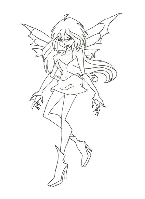Bloom Winx Coloring Pages winx bloom coloring page by winxmagic237 on deviantart