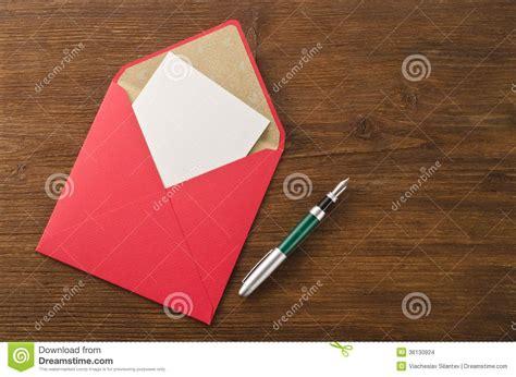Pen Paper Kiky Envelope blank paper pen and envelope stock images image 36130924