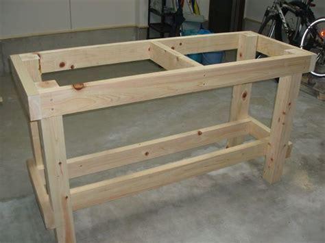 Wooden Garage Bench Plans
