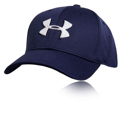 Baseball Hat Ordinary Imbong armour blitzing ii boys navy blue running wear hat cap m l ebay