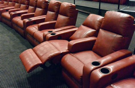 movies recliner seats recliner seats added to one of renaissance cinema s