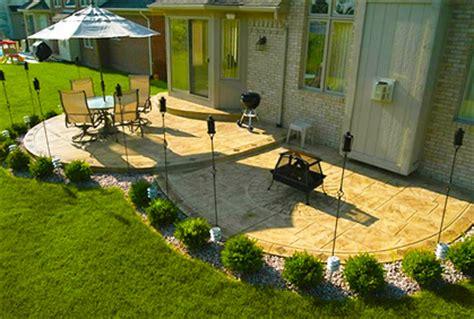 Simple Concrete Patio Ideas by Simple Concrete Patio Designs Design Decorating Image Mag
