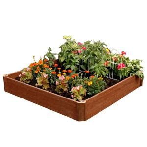 home depot garden bed greenland gardener 42 in x 42 in x 8 in raised garden