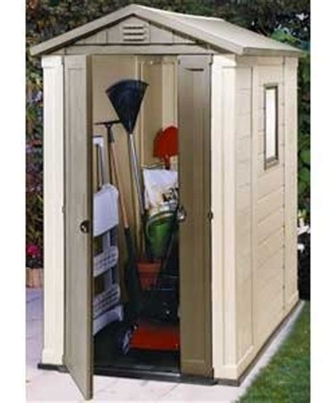 4 x 6 keter plastic apex garden shed for sale in cashel