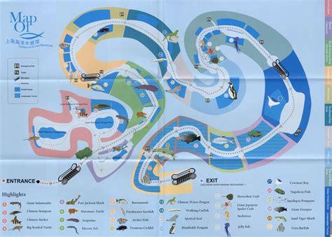 2nd Floor Plans by Zoos Shanghai Ocean Aquarium