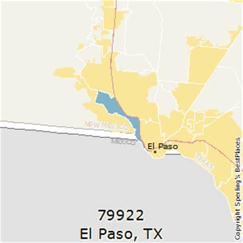 el paso texas zip codes map best places to live in el paso zip 79922 texas