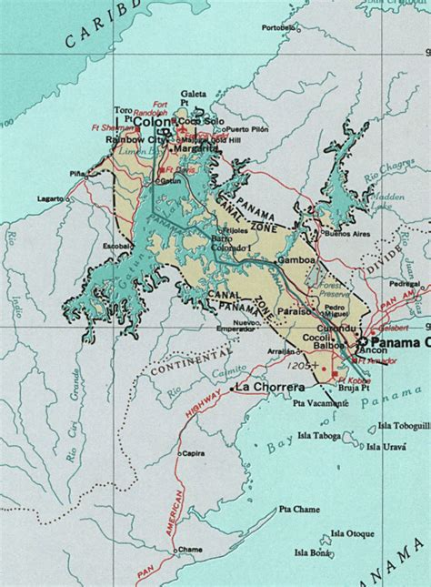 panama canal diagram file canalzone png wikimedia commons