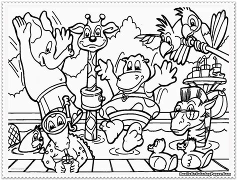Animal Coloring Pages Getcoloringpages Com