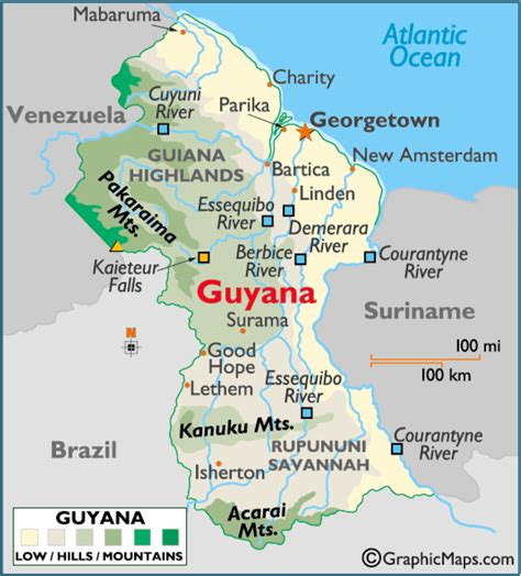 guyana south america map guyana keeping on in the