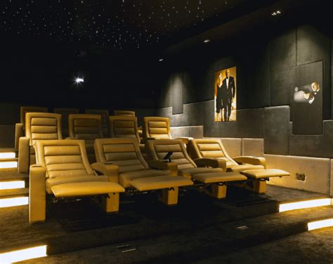 theaters with lounge chairs 80 home theater design ideas for room retreats