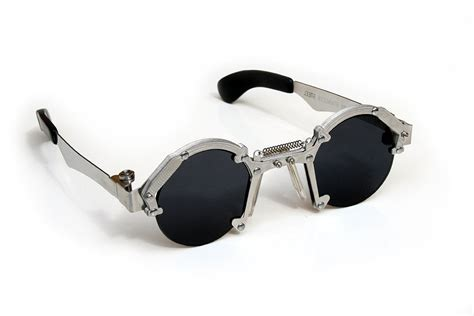 unique glasses round sunglasses steunk sunglasses industrial by