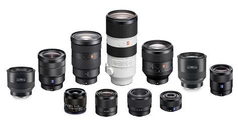 best lens for sony nex best fullframe e mount fe lenses for sony mirrorless cameras