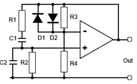 diode stabilised wien bridge oscillator wien bridge oscillators