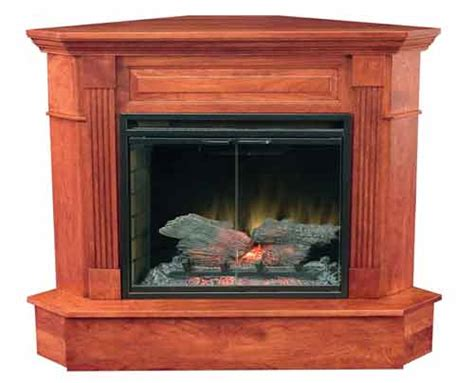 Fireplace Inserts Charleston Sc by Amish Charleston Corner Fireplace 33 Insert Cschafp 33c