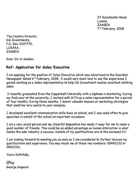 application letter for vacancy as a vacancies sle application letter fix yes