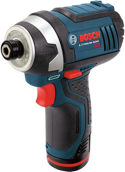 Bosch Driver best cordless impact drivers 2015 edition