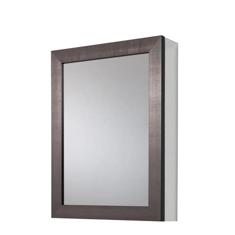 surface mount medicine home glacier bay 20 in x 26 in recessed or surface mount