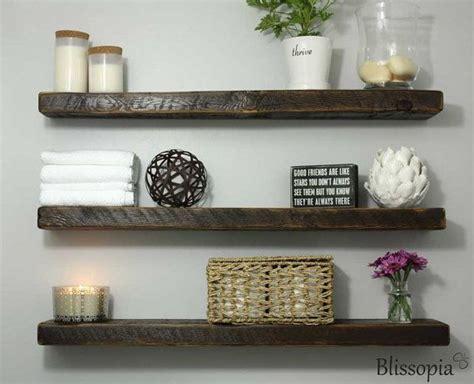 floating shelves wood best 25 wood floating shelves ideas on shelf