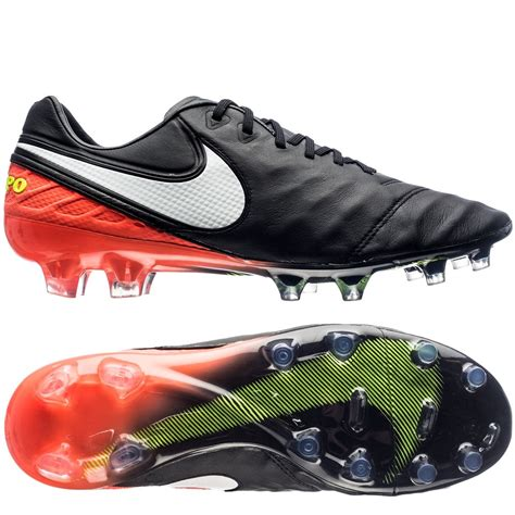 Nike Tiempo For nike tiempo legend vi fg soccer cleats black white hyper