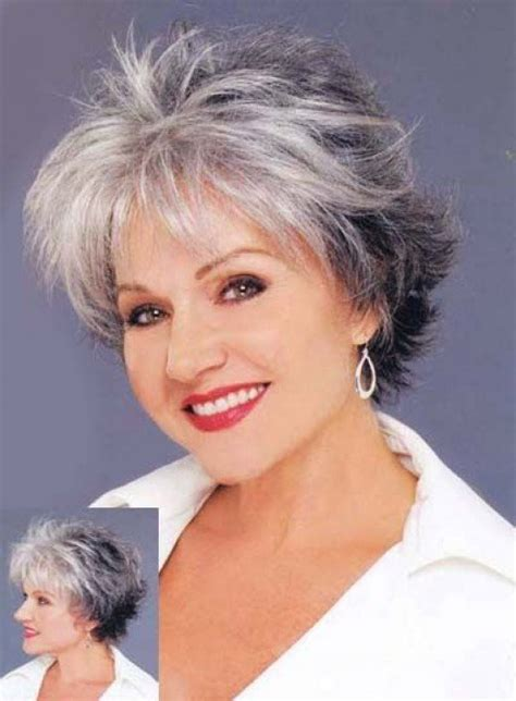 platinum hair older woman silver fox hair styles for medium texture wavy hair
