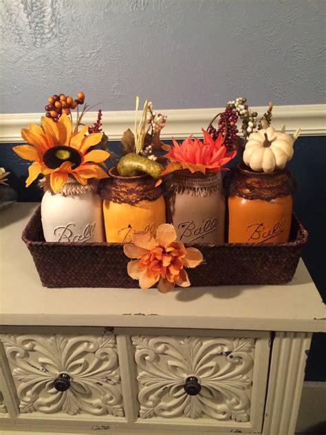chic fall 17 shabby chic handmade fall jar decor ideas for the