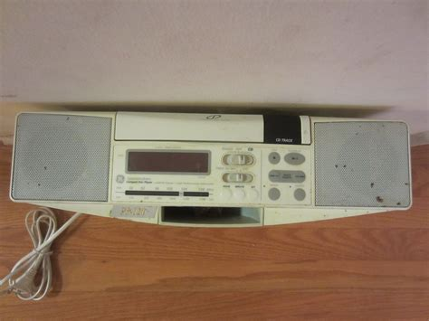 ge spacemaker 7 4290g cabinet cd player am fm radio