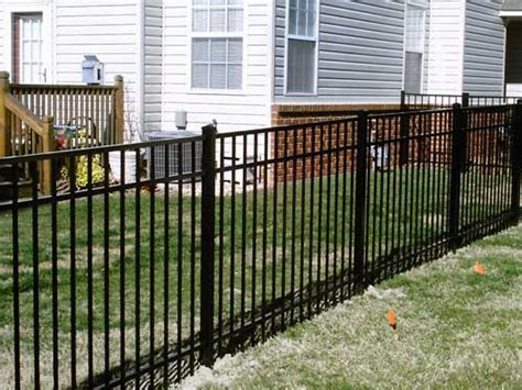 Decorative Metal Fence by Fence Service 3