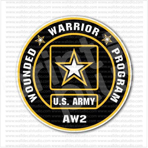 Wounded Warrior Sticker