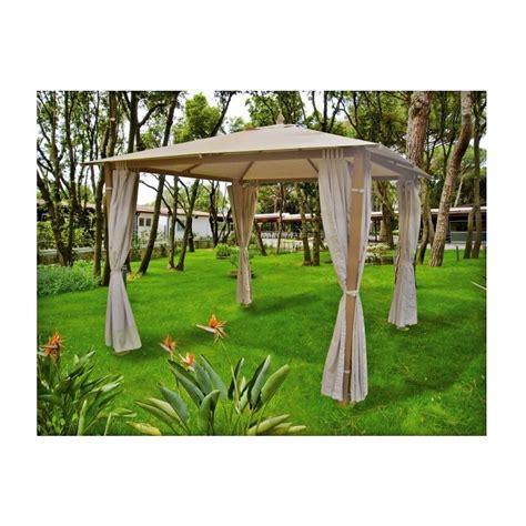 gazebo legno 3x3 gazebi in alluminio effetto legno 3x3