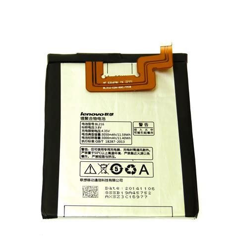 Batre Baterai Battery Lenovo Vibe Z K910 Bl216 Original Battery battery bl216 oem for lenovo vibe z k910 lcdpartner