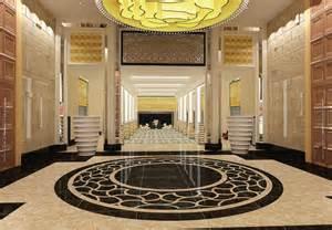 European Home Interiors hotel corridor interior design in 3d