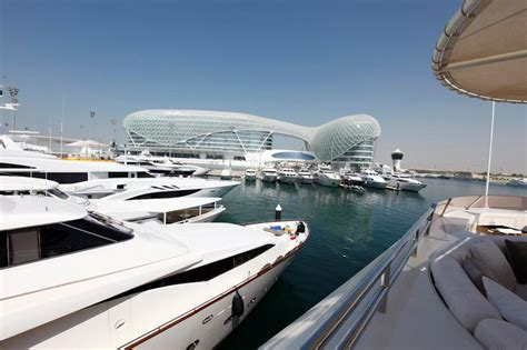 boat show yas marina second abu dhabi yacht show moves to magnificent yas