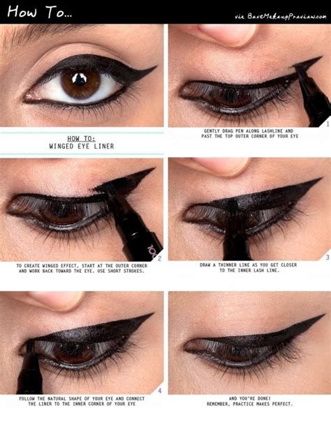 7 Tricks For Applying Eyeliner by How To Apply Liquid Eyeliner 07 Indian Makeup And